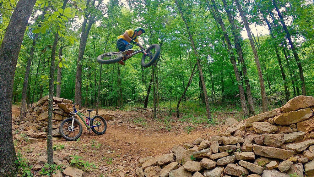 best mountain bike trails in Bentonville AR
